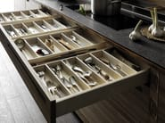 Wooden fitted kitchen SineTempore - VALCUCINE