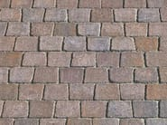 Cement outdoor floor tiles with stone effect MOTIVI - FAVARO1