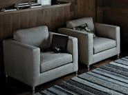 Leather armchair with fire retardant padding MINI G | Armchair - ESTEL GROUP