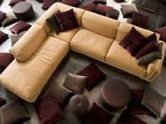 Sectional recliner sofa SPAZIO - ERBA ITALIA