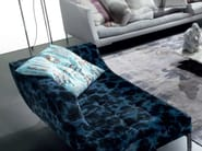 Upholstered fabric day bed VICEVERSA | Day bed - ERBA ITALIA