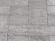Cement outdoor floor tiles with stone effect BORGO LAVAGNA - FAVARO1