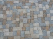 Cement outdoor floor tiles with stone effect BORGO SABBIA - FAVARO1