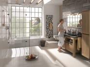 Piatto doccia filo pavimento in acciaio smaltato XETIS - Kaldewei Italia