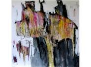 Acrylic on canvas THE CATMAN | Decorative painting - ICI ET LÀ