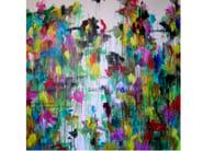 Acrylic on canvas DESTINO - ICI ET LÀ