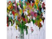 Acrylic on canvas LA BELLEZA - ICI ET LÀ