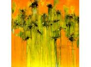 Acrylic on canvas SIN PALABRAS - ICI ET LÀ