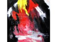 Acrylic on canvas FLAMENCO - ICI ET LÀ