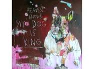 Acrylic on canvas DOG#4 - ICI ET LÀ