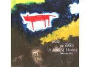 Acrylic on canvas LA LUNA SE ESCONDE - ICI ET LÀ