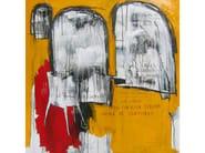 Acrylic on canvas OCTUBRE - ICI ET LÀ