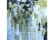 Acrylic on canvas STOP - ICI ET LÀ