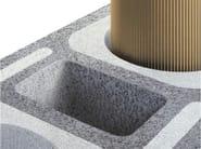 Refractory ceramic flue ABSOLUT - Schiedel