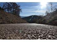 Pervious concrete for road pavings DRAINBETON - Betonrossi