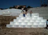 Thermal insulation panel POLISULPOL AIPOR FONDAZIONI - SULPOL