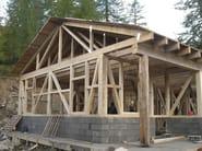 Wooden house FRAME SYSTEM - GALLOPPINI LEGNAMI