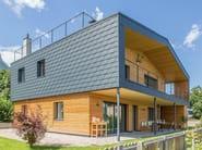 Metal shingle for facades Scandola in alluminio - PREFA ITALIA
