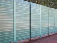 Anti-noise road barrier / Road noise barrier Road noise barrier - SILTE