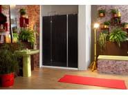 Corner rectangular shower cabin STILE LIBERO B2F - MEGIUS