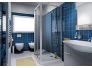 Shower cabin with sliding door CLASSIC P1S - MEGIUS
