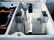Sedimentation tank for drainage system Sedimentation tank - GAZEBO