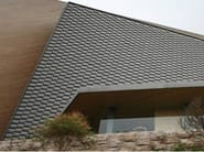 Pre-patinated zinc-titanium laminated for coatings ZINKMETAL® - KME Architectural Solutions