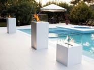 Bioethanol open vent free fireplace TWIN | Outdoor fireplace - ITALY DREAM DESIGN - Kallisté
