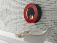 Bioethanol wall-mounted vent free fireplace CIRCLE - ITALY DREAM DESIGN - Kallisté