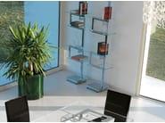 Design open freestanding double-sided metal bookcase HERITAGE   Design bookcase - ITALY DREAM DESIGN - Kallisté