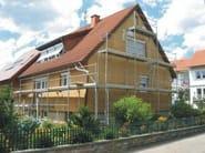 Wood fibre Exterior insulation system NORDTEX SYSTEM 230 - NORDTEX