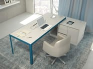 Executive desk MORE 575 | Writing desk - ESTEL GROUP