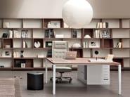 Rectangular workstation desk ASTERISCO IN | Office desk - ESTEL GROUP