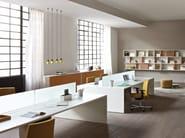 Workstation desk LOOP IN | Office desk - ESTEL GROUP