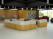 Modular reception desk ASSIST | Reception desk - ESTEL GROUP