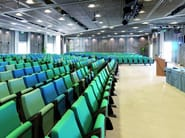 Auditorium seats with writing tablet ERASMUS - ESTEL GROUP