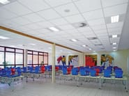 Mineral fibre ceiling tiles ULTIMA OP - ARMSTRONG Building Products