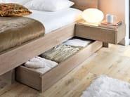 Oak double bed MERVENT | Double bed - GAUTIER FRANCE