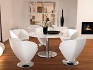 Design swivel armchair STAGE 061 - Tonon