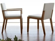 Wooden chair with armrests EUTHALIA 181 | Chair - Tonon