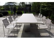 Rectangular garden table DOBLE | Garden table - FueraDentro