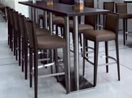 Counter stool with footrest VILLA 323 | Counter stool - Tonon