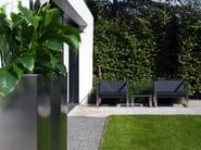 Rectangular garden side table MESITA 45 LOUNGE - FueraDentro