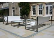 Low Square garden side table MESITA 78 LOUNGE - FueraDentro