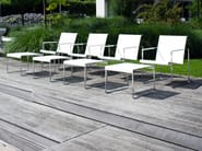 Batyline® garden chair with armrests POLTRONA - FueraDentro