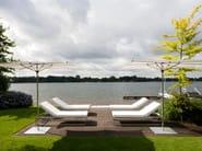 Recliner Batyline® garden daybed SIESTA LOUNGE - FueraDentro