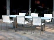 Batyline® garden chair with armrests SILLÓN - FueraDentro