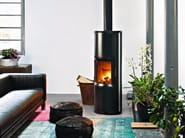 Wood-burning stove STRIPE OVERNIGHT - MCZ GROUP