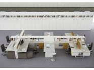Multiple office workstation COMBI - ESTEL GROUP