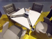 Square Hotel table QUADRIFOGLIO - ESTEL GROUP
